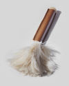 Relaxing feather duster
